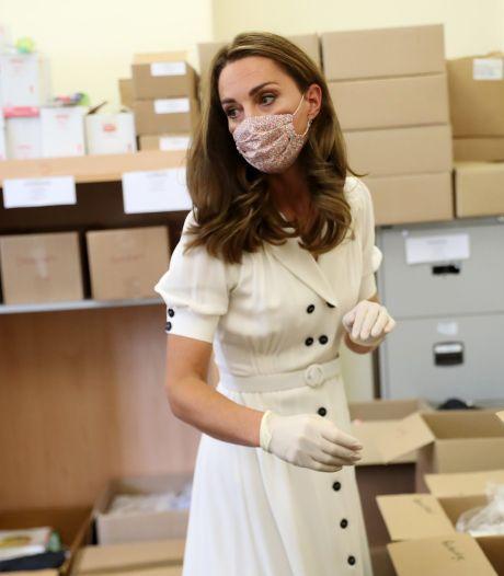 Ce masque à moins de 20 euros porté par Kate Middleton s'arrache