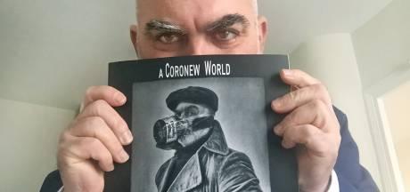 Mondmaskerportretten van Eibergse fotograaf Grégory Herpe in boek en Parijs: 'Coronanew World'