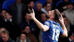 LIVE. Giroud zet Chelsea met knappe goal snel op voorsprong, Vertonghen kan niet afblokken