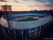 KNVB: Feyenoordspandoeken moeten weg uit de Kuip vanwege bekerfinale Ajax