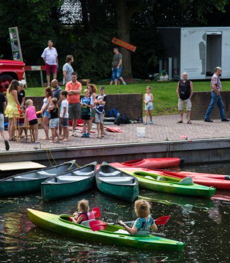 Festival langs de Berkel in Eibergen met foodtrucks, muziek, cultuur en natuur