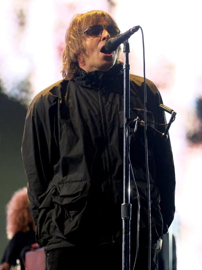 Liam Gallagher au festival de l'île de Wight vendredi dernier.