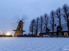 Heel Brabant kleurt wit door eerste sneeuw die blijft liggen, code geel hele nacht van kracht