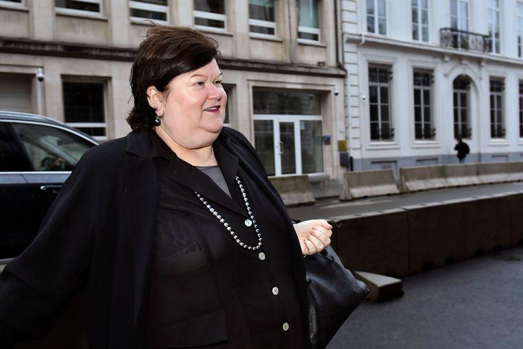 Minister van Sociale Zaken Maggie De Block (Open Vld).
