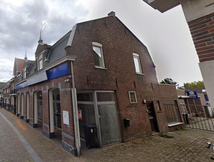 Kerkstraat 21, voorheen een fietsenwinkel, wordt volgens plan een zorghotel onder de naam Care-Inn