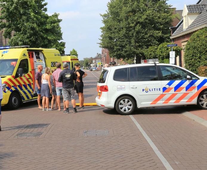 Fietser zwaargewond bij ongeluk in Liessel.