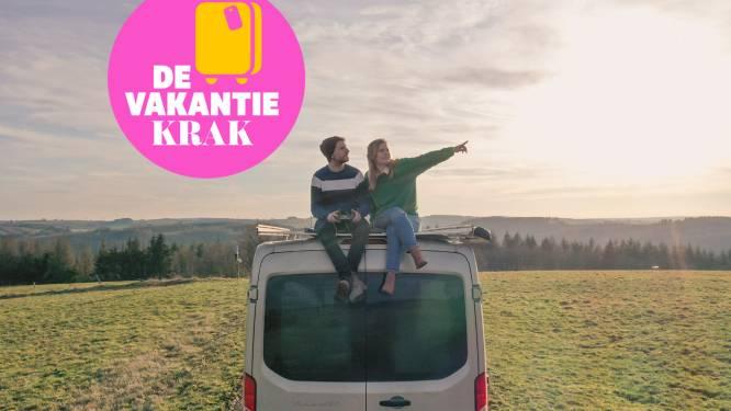 """""""Voor 4.000 euro bouwden we ons busje om tot camper"""": Ellen en Bryan zijn experts in roadtrippen en delen hun praktische tips en tricks"""