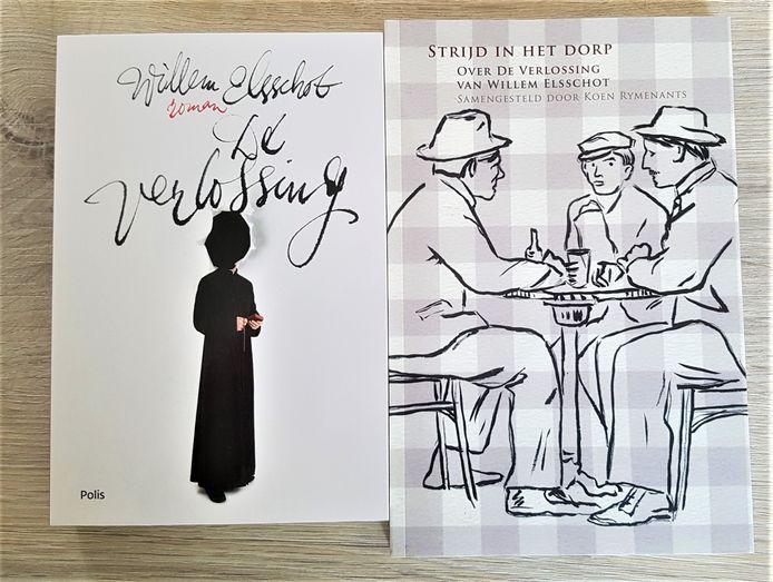 In het boekenpakket vind je 'De Verlossing' en het bijhorende achtergrondboek 'Strijd in het Dorp'.