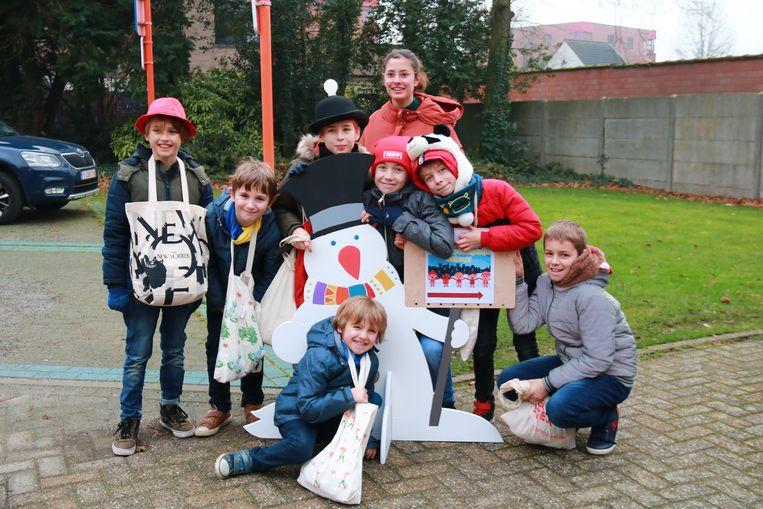 Nieuwjaarszangertjes in Borsbeek.