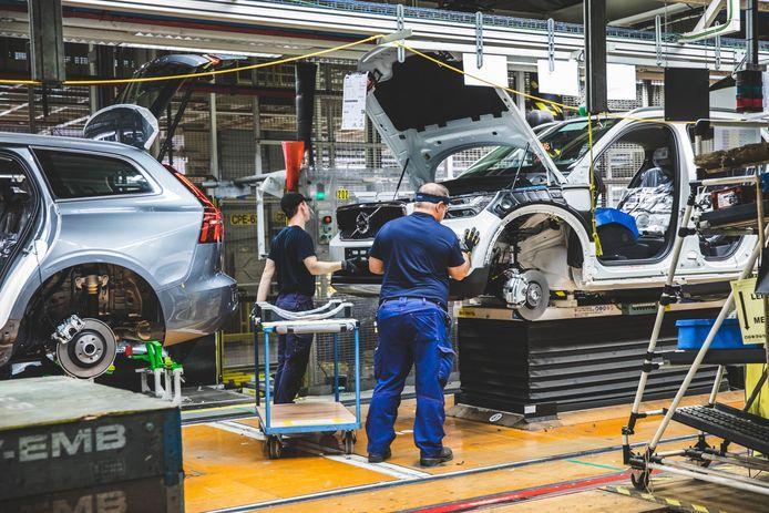 Bij Volvo Car kan deze week normaal gezien gewoon doorgewerkt worden