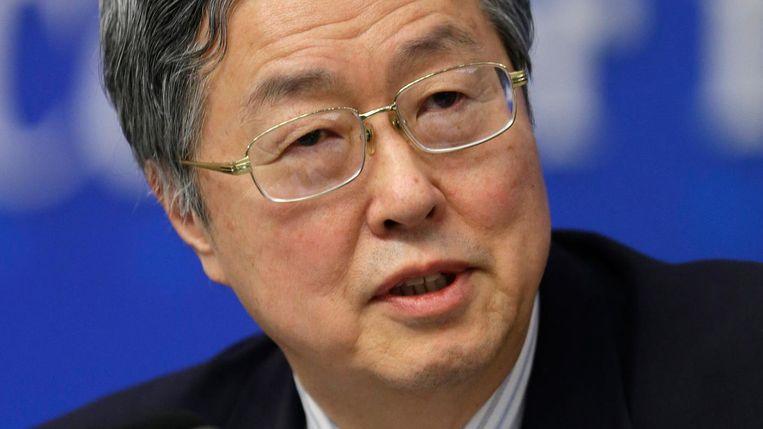 Zhou Xiaochuan. Beeld reuters