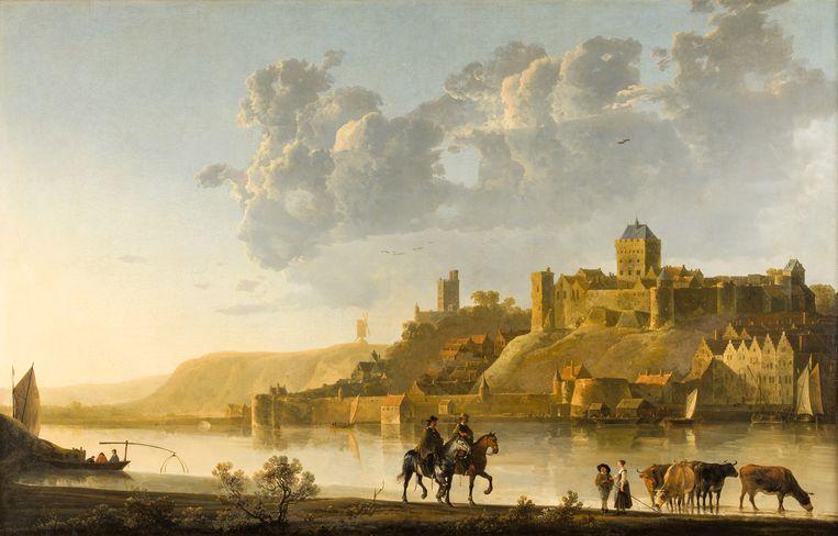 Albert Cuyp, Het Valkhof te Nijmegen (ca. 1660) Beeld The Woburn Abbey Collection