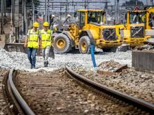 Geen treinen tussen Eindhoven en Tilburg in herfstvakantie
