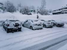 Rampgebied in Oostenrijk? Pascal uit Nijkerk en Maarten uit Twello ondervinden amper hinder van sneeuwval
