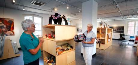 'Wie wat koopt in onze gloednieuwe museumwinkel, denkt even aan ons terug'