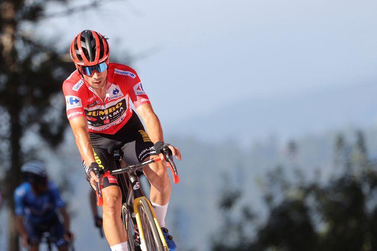 Primoz Roglic, drievoudig winnaar van de Ronde van Spanje. Beeld EPA