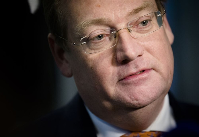 Minister Ard van der Steur van Veiligheid en Justitie.