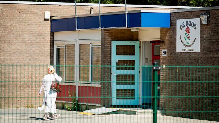 Islamitisch Basisschool De Roos in Zaandam. Beeld anp