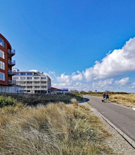 René en Tiny vrezen hun uitzicht te verliezen als hotel in Cadzand uitbreidt: 'Straks is de skyline weg'