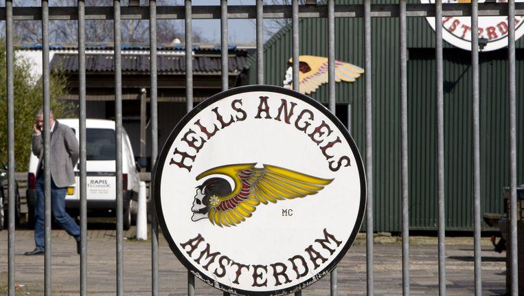 Het clubhuis van de Hells Angels in Amsterdam Beeld ANP
