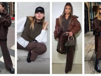 Brown is the new black: hoe niet zwart, maar de kleur bruin anno 2021 onze kleerkasten domineert