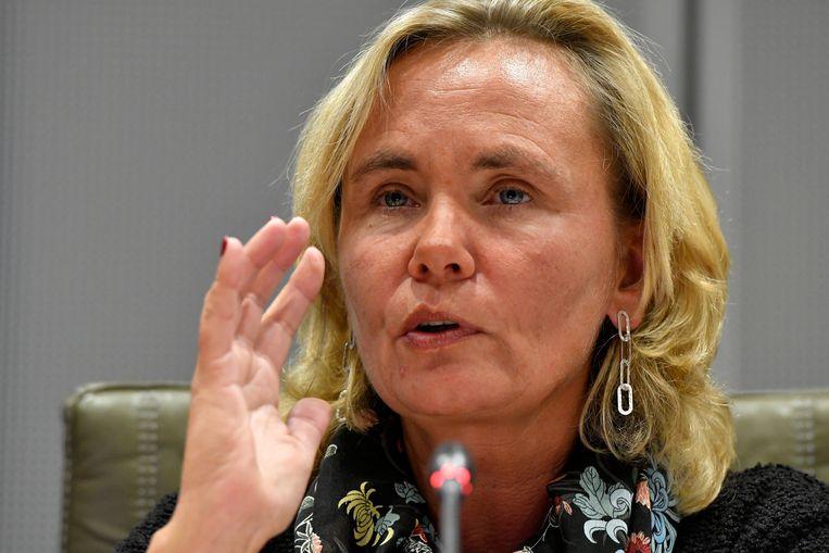 Vlaams minister van Binnenlands Bestuur Liesbeth Homans. Beeld Photo News