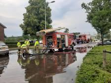 Dag na de wolkbreuk weer water in Vlijmen en Nieuwkuijk, dit keer over de wangen: 'We hadden net verbouwd'