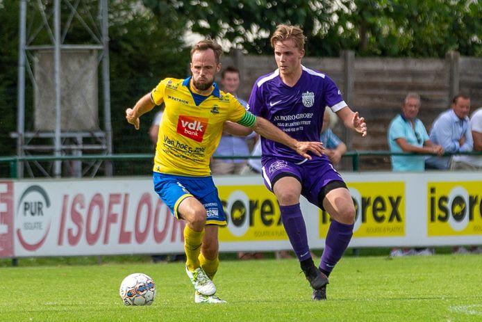 Enzo Neve, kapitein van KSC Dikkelvenne, zal na vier seizoenen de club aan de Hofkouter verlaten.
