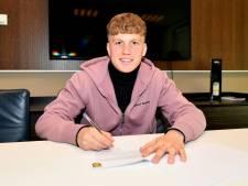 Sleeuwijker Jordi Altena (17) tekent contract bij Vitesse: 'Dromen van Liverpool. Dat mag toch?'