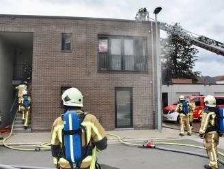 Zware schade na brand in keuken: geen slachtoffers