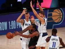 Mavericks op gelijke hoogte met Clippers in play-offs NBA