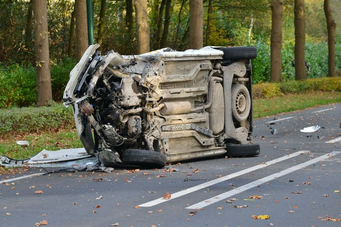Ongeval Bredaseweg Rijsbergen