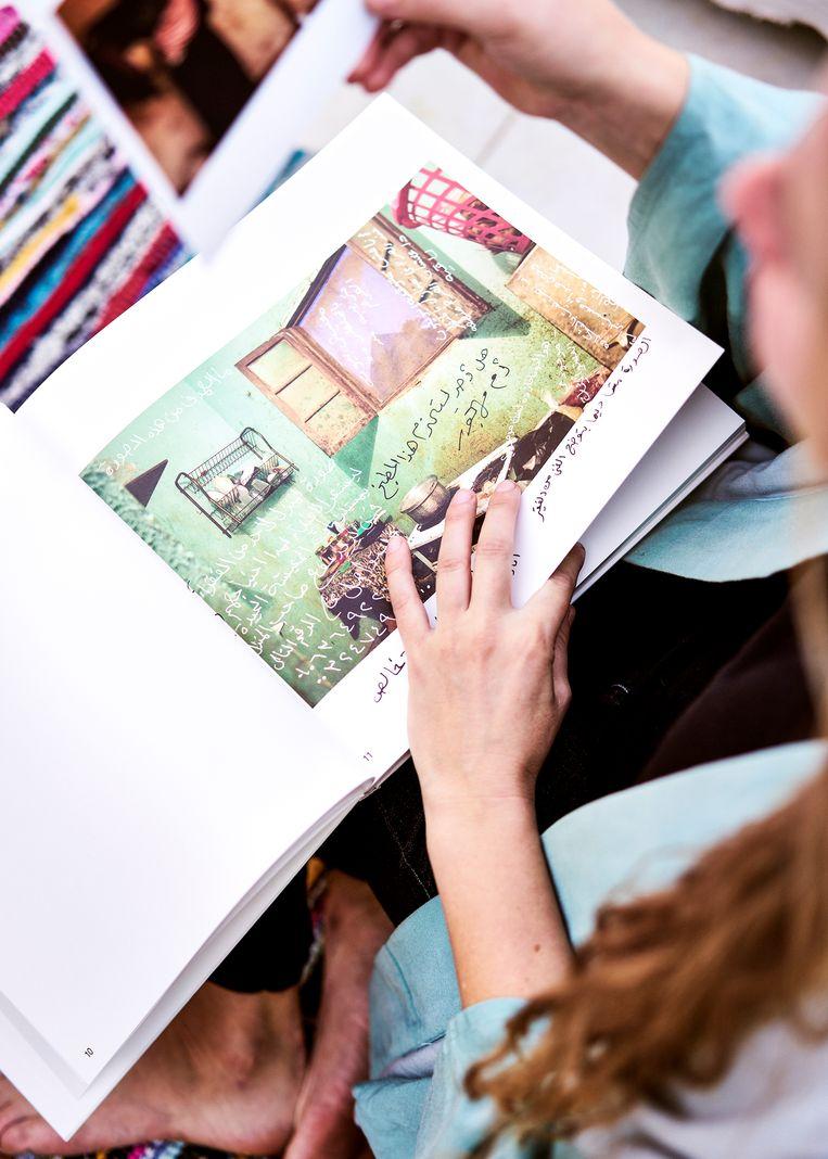 Het boek 'As it may be' dat Ruth maakte met Magnumfotografe Bieke Depoorter. Beeld Hannes Vandenbourcke