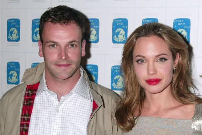Jonny Lee Miller et Angelina Jolie