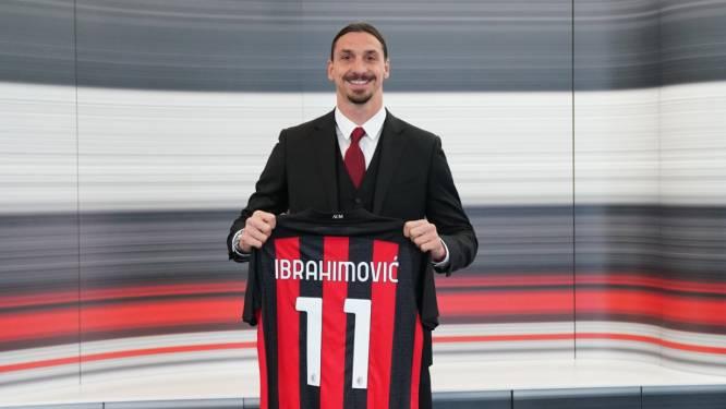 Zlatan plakt er nog een jaar bij en blijft tot halverwege 2022 bij Milan