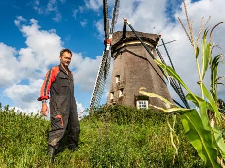 Molen waar komiek André van Duin woonde in Rijnsaterwoude te koop voor 2 miljoen euro