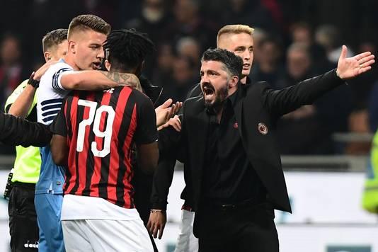 Gennaro Gattuso, ook een slachtoffer van het trainerskerkhof AC Milan.