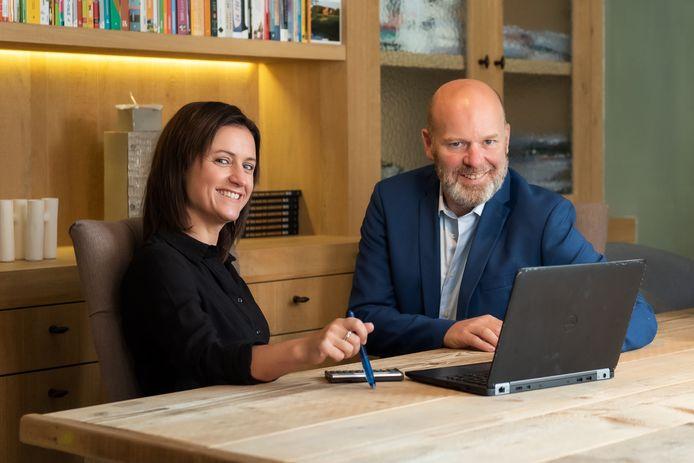 Anke Vandenhouwe en Ben Leo richtten afgelopen zomer De Supporters op.