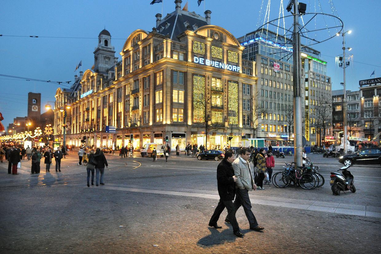 De Bijenkorf in Amsterdam. Onder de familie Weston gingen de winkels in Arnhem, Enschede, Breda, Den Bosch en Groningen dicht. Beeld Guus Dubbelman / de Volkskrant