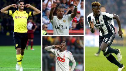 FT België (1/10). Geen enkele Belg te bespeuren op lijst van '40 beste jonge voetballers', Standard-winger wel genomineerd
