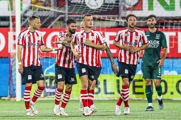 Sparta and NEC get what they deserve with some extent |  Dutch soccer
