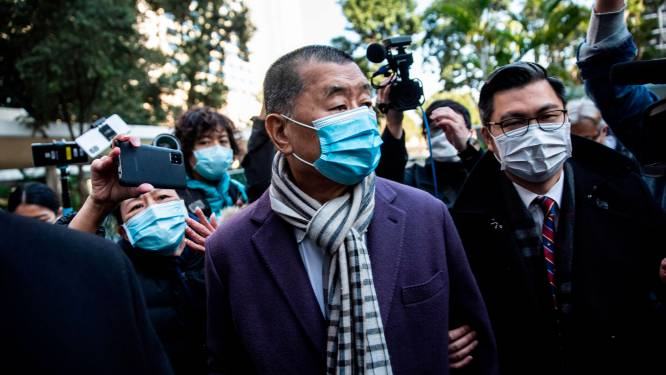 Hongkongse mediamagnaat Jimmy Lai moet opnieuw naar de gevangenis