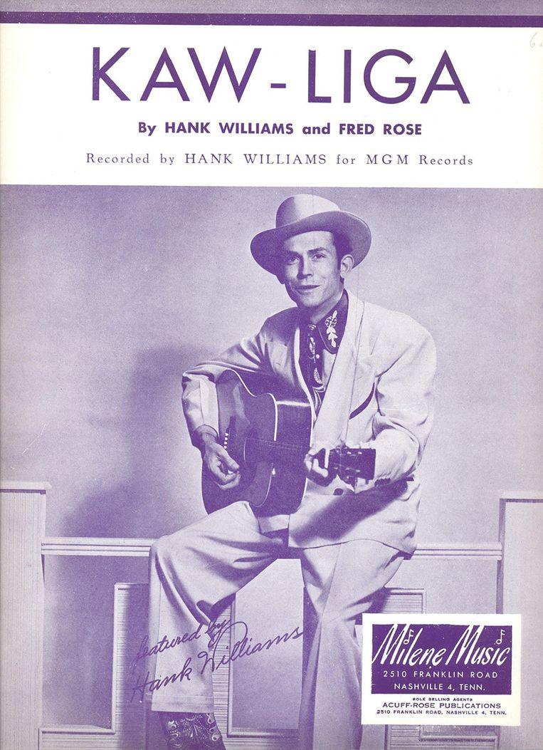 Kaw-Liga  Hank Williams SR Beeld x