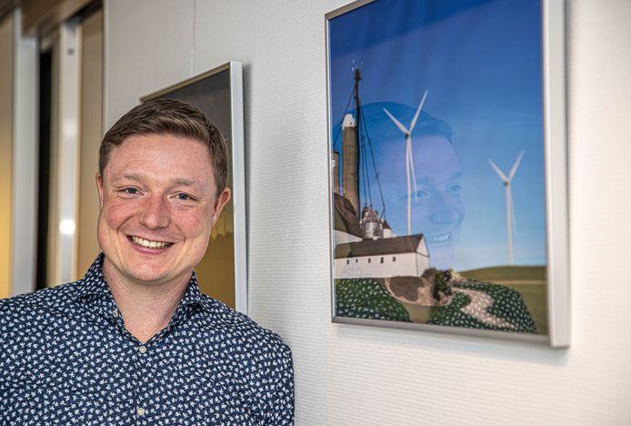 """Prowind-directeur Jörn Maathuis: """"Er is in Noordoost-Twente een positieve grondhouding ten opzichte van windenergie."""""""