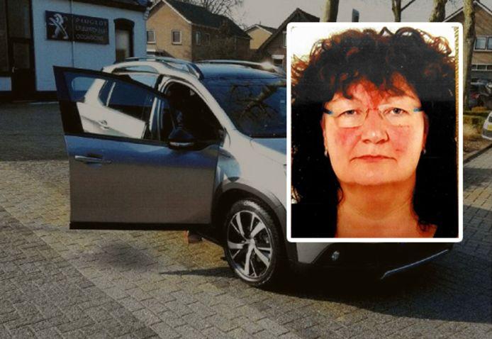 Anneke Nevels vertrok in haar auto.