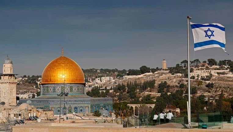 De Al Aqsa Moskee in Jeruzalem. Beeld AFP