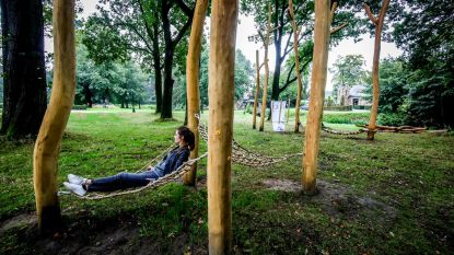 Kinderen ontwerpen speelplein in domein d'Aertrycke