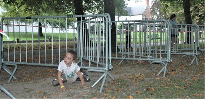 Hindernissenparcours voor de jongsten op Ronse Run&Roll.