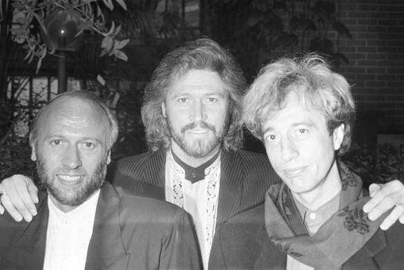 Foto van Robin Gibb verliest strijd tegen kanker (1949 - 2012)
