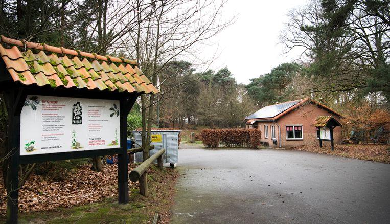 Buitencentrum De Heikop waar Nicky Verstappen op zomerkamp was in augustus 1998. Beeld ANP